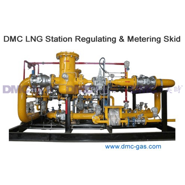 DMC LNG Station Regulating & Metering Skid