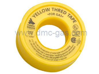 Gasoila Chemicals Thred Tape YT70 (Yellow for Gas)