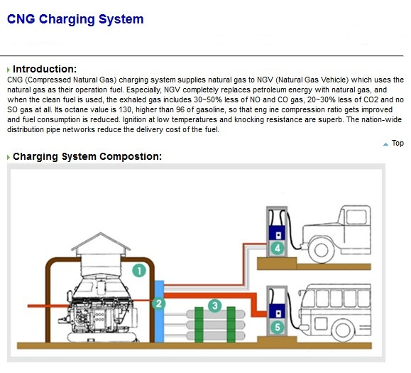 CNG Charging System