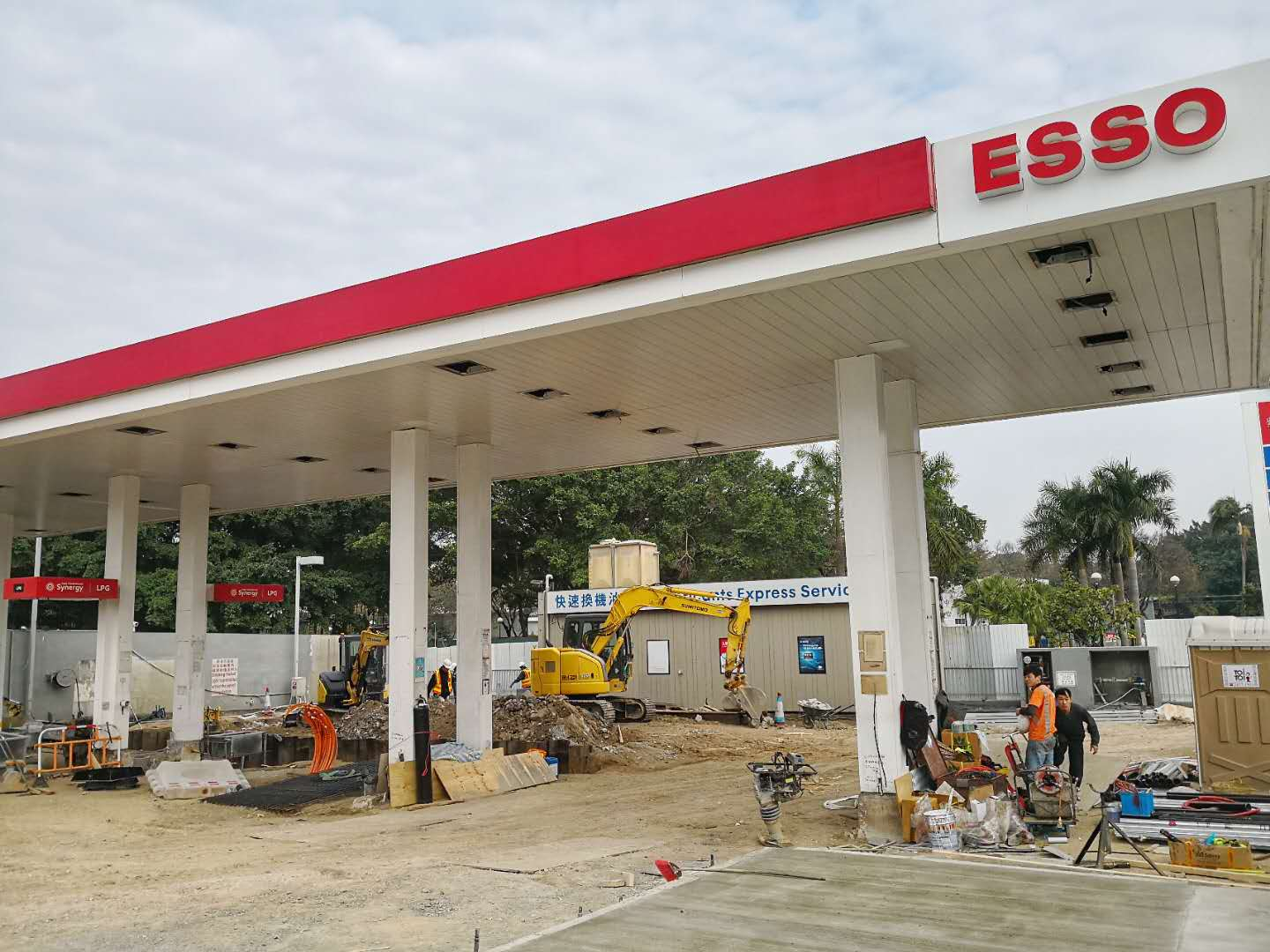 30KL LPG Tank Delivery to Ping Shan ESSO Gas Station