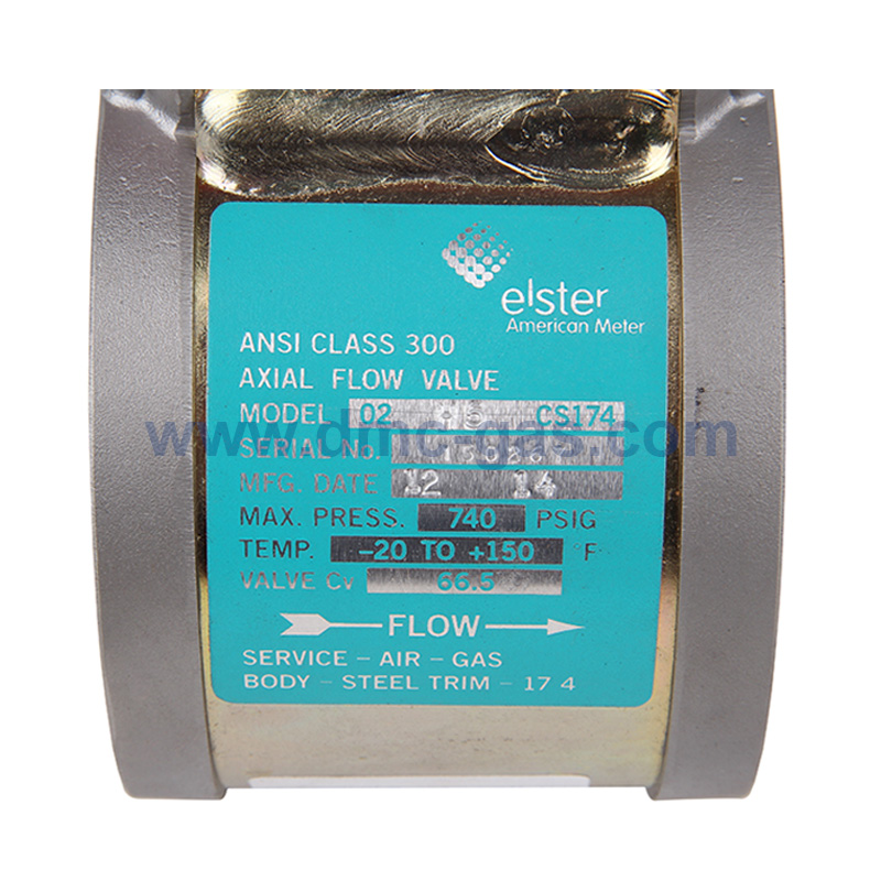 American Meter (AMCO) LPG Regulator Axial Flow Valve (AFV)_4