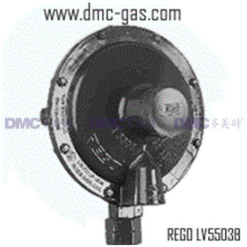 RegO LPG Low Pressure Second Stage Regulator LV5503B Series